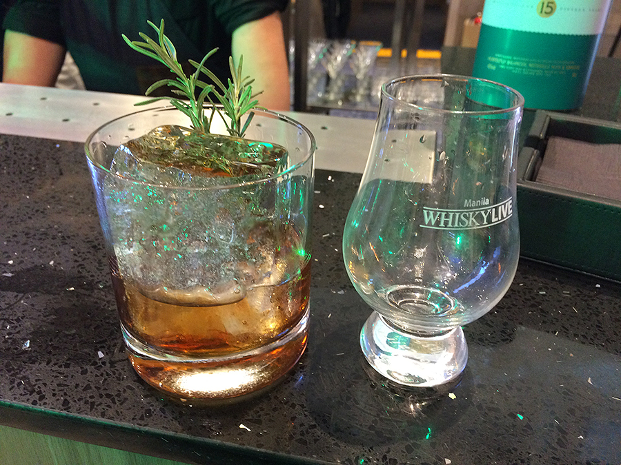 whisky live manila 2016 main bar cocktail