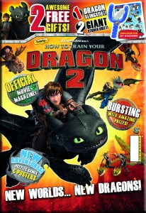 How To Train Your Dragon 2 Magazine Bag Cover 2014