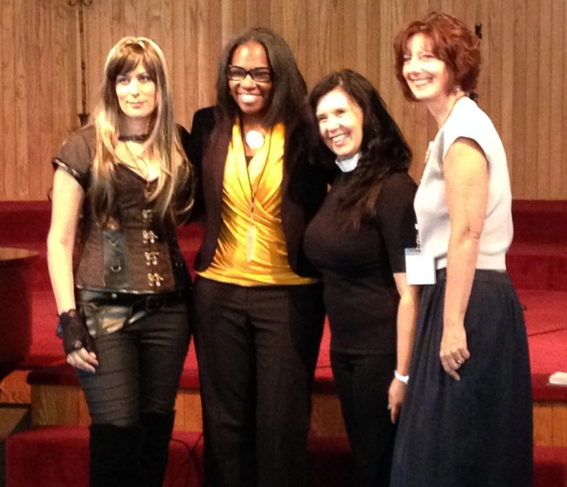 From Left to Right: Carmi Fellwock, Tige Charity, Serena Travis and Zina Bell