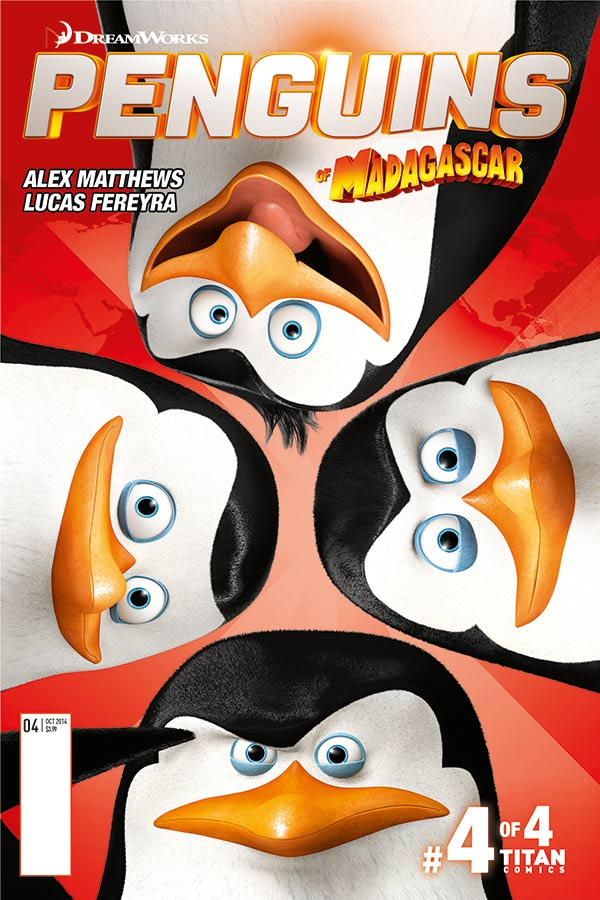 THE PENGUINS OF MADAGASCAR #4