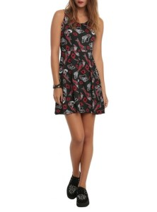 10232877_DC Comics Harley Quinn Print Dress_hi