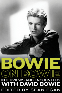 Cover for Bowie on Bowie edited by Sean Egan