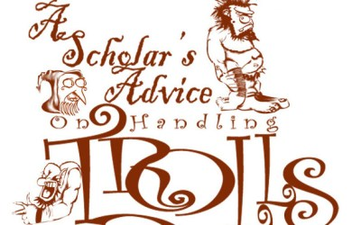 A Scholar's Advice on Handling Trolls Logo