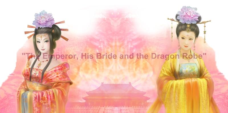 The Emperor His Bride and the Dragon Robe Illustration  1