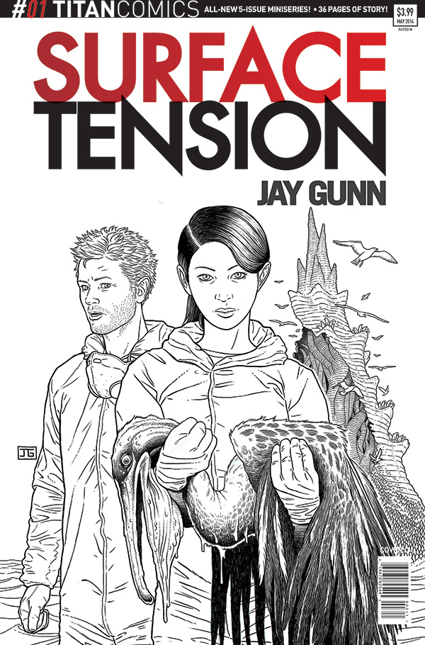 Surface Tension 1 Cover C