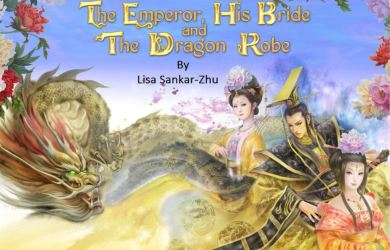 The Emperor His Bride and the Dragon Robe Cover