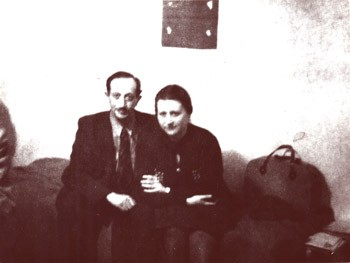 Cyla and Simon, Courtesy of the Simon Wiesenthal Archive