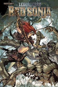 Cover for Legenderry Red Sonja #2