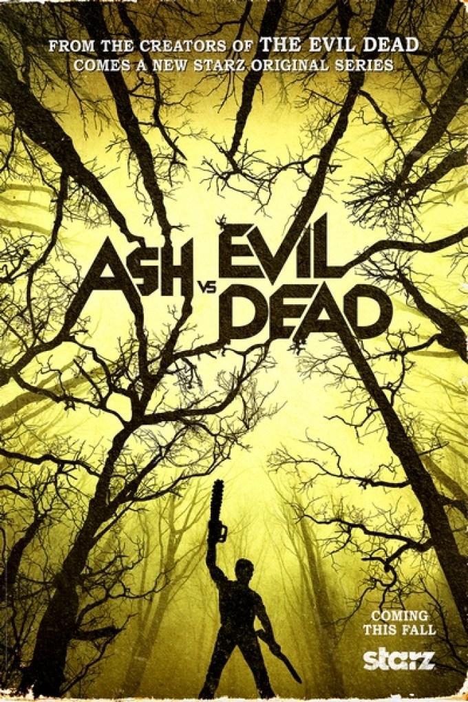 As vs Evil Dead Teaser Poster