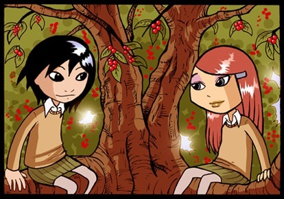 Antimony and Kat in a Tree