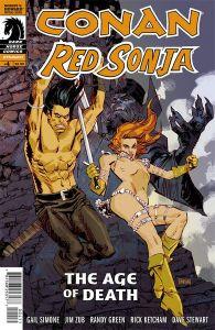 Conan Red Sonja #4 Cover by Dan Panosian