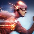 The Flash running