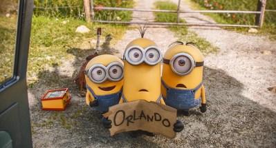 Minions Orlando Sign