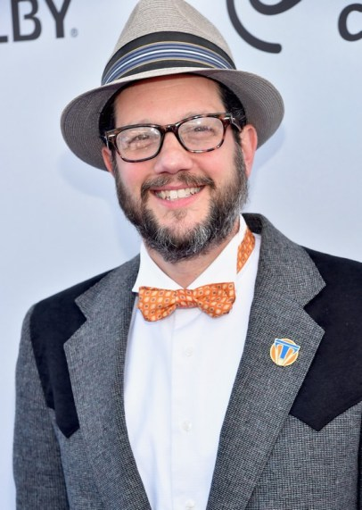 "ANAHEIM, CA - MAY 09: Composer Michael Giacchino attends the world premiere of Disney's ""Tomorrowland"" at Disneyland, Anaheim on May 9, 2015 in Anaheim, California. (Photo by Alberto E. Rodriguez/Getty Images for Disney) *** Local Caption *** Michael Giacchino"