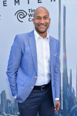 "ANAHEIM, CA - MAY 09: Actor Keegan-Michael Key attends the world premiere of Disney's ""Tomorrowland"" at Disneyland, Anaheim on May 9, 2015 in Anaheim, California. (Photo by Alberto E. Rodriguez/Getty Images for Disney) *** Local Caption *** Keegan-Michael Key"
