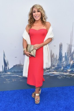 """ANAHEIM, CA - MAY 09: TV personality Lori Greiner attends the world premiere of Disney's """"Tomorrowland"""" at Disneyland, Anaheim on May 9, 2015 in Anaheim, California. (Photo by Alberto E. Rodriguez/Getty Images for Disney) *** Local Caption *** Lori Greiner"""