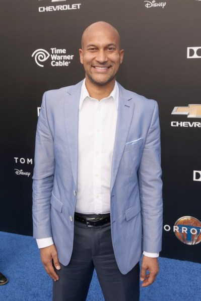 "ANAHEIM, CA - MAY 09: Actor Keegan-Michael Key attends the world premiere of Disney's ""Tomorrowland"" at Disneyland, Anaheim on May 9, 2015 in Anaheim, California. (Photo by Jesse Grant/Getty Images for Disney) *** Local Caption *** Keegan-Michael Key"
