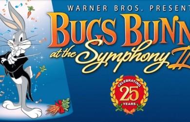 Logo: Bugs Bunny at the Symphony Celebrating 25 years
