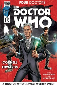 Doctor Who Four Doctors Cover A #1 of 5