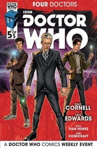 Doctor Who Four Doctors Cover A #5 of 5
