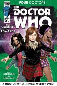 Doctor Who The Four Doctors Interconnected Cover C The Companions 5 of 5