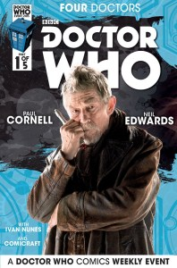 Doctor Who the Four Doctors Interconnected Cover B 5 of 5