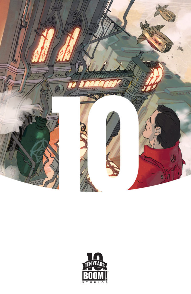 Lantern City #1 C Ten Years