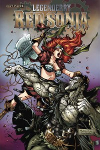 Legenderry: Red Sonja #3 Cover
