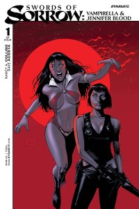 Swords of Sorrow Vampirella & Jennifer Blood #1 Cover