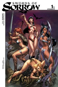 Swords of Sorrow #1 Cover A by J Scott Campbell and Nei Ruffino