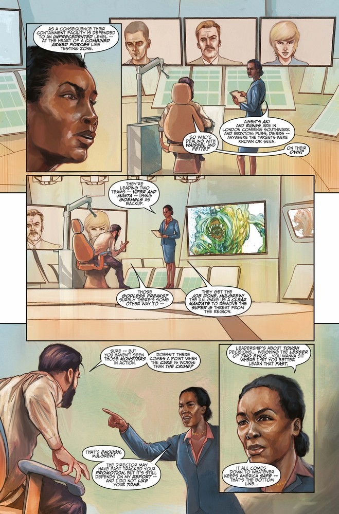 Death Sentence: London #3 preview page 3 of 3