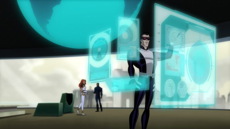 Batman in Justice League: Gods and Monsters