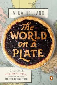 Cover for The World on a Plate by Mina Holland