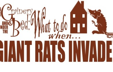 A Scholar's Advice on What to do when giant rats invade