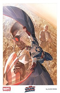 Alex Ross 2015 Falcon Lithograph