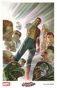 Alex Ross 2015 Spiderman Lithograph