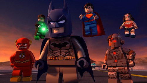 the LEGO Justice League