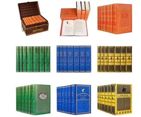 The full array of Harry Potter House Sets