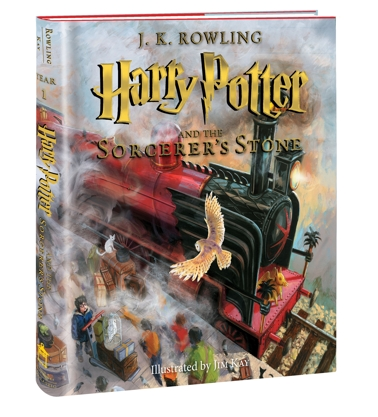 Harry Potter and the Sorcerer's Stone Illustrated Edition Cover