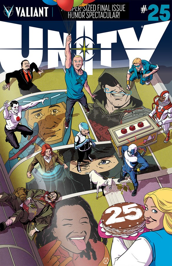 Unity #25 Cover A by Kano