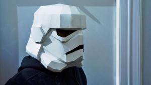 Cereal Box Stormtrooper Helmet