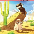 Grumpy Cat Dynamite Comic Cover