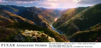 This kind of landscape is one reason to watch Pixar movies