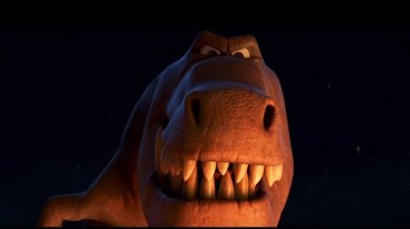 Butch gets to the grand finale of his tale in this still from The Good Dinosaur
