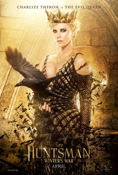 Charlize Theron as Ravenna in The Huntsman: Winter's War Poster