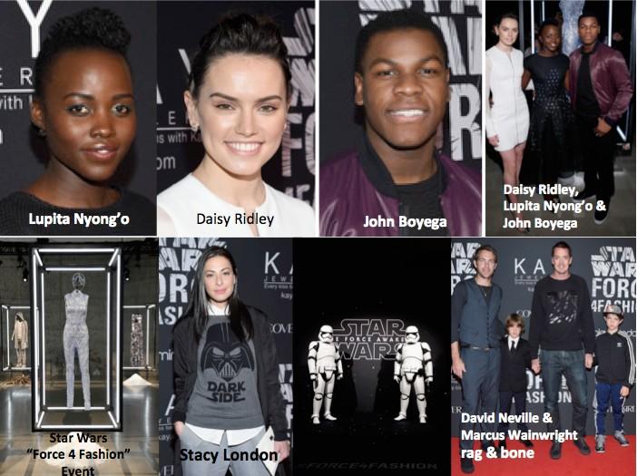 Star Wars Force 4 Fashion main players
