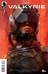 EVE: Valkyrie #3 Cover