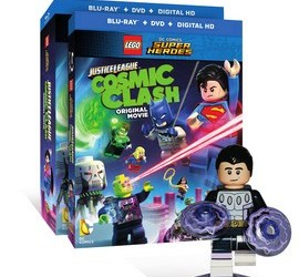 DVD Blu-Ray Justice League: Cosmic Clash