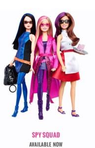 Spy Squad Barbie
