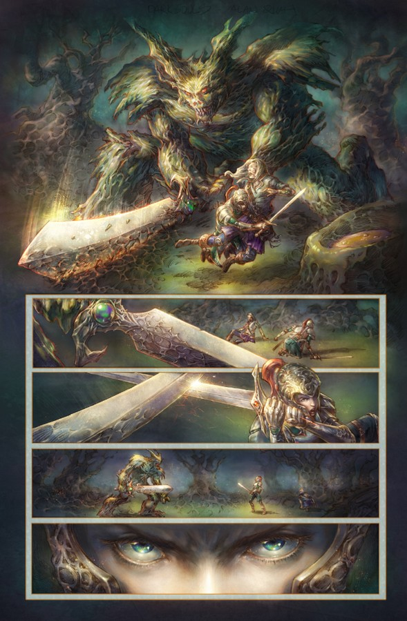 Page from Dark Souls
